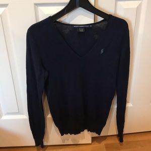 Ralph Lauren Sport Sweater in navy.